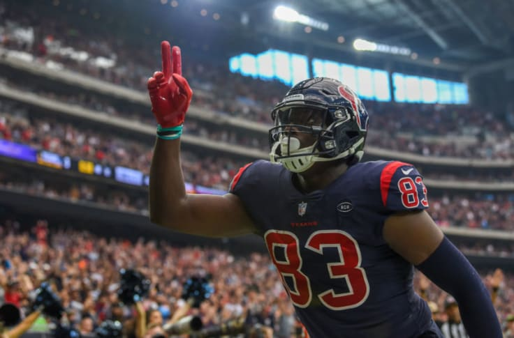 Houston Texans: Jordan Thomas is the right weapon for the right time