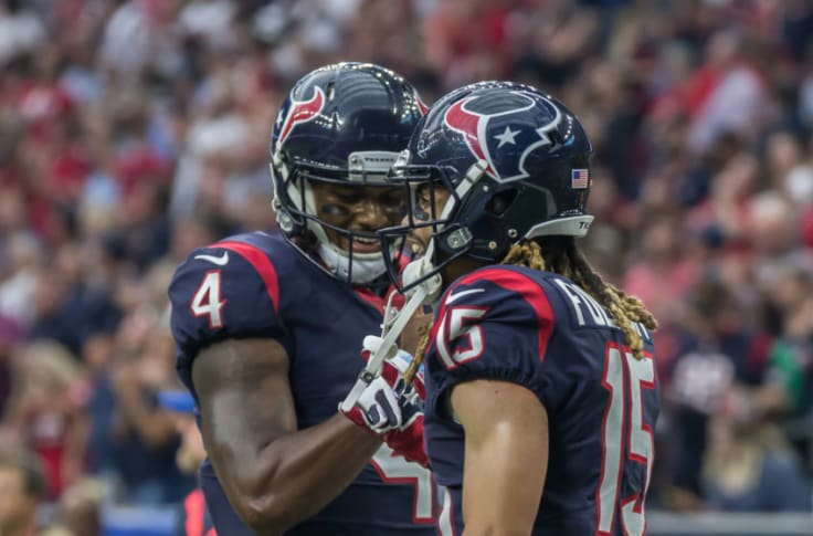 Houston Texans: Watson and Fuller could be best QB/WR duo in 2019