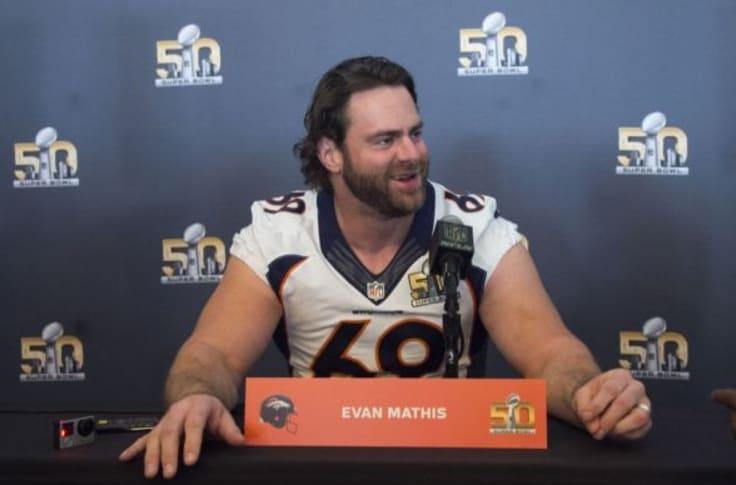 Former Eagle Evan Mathis Wins Super Bowl With The Denver Broncos