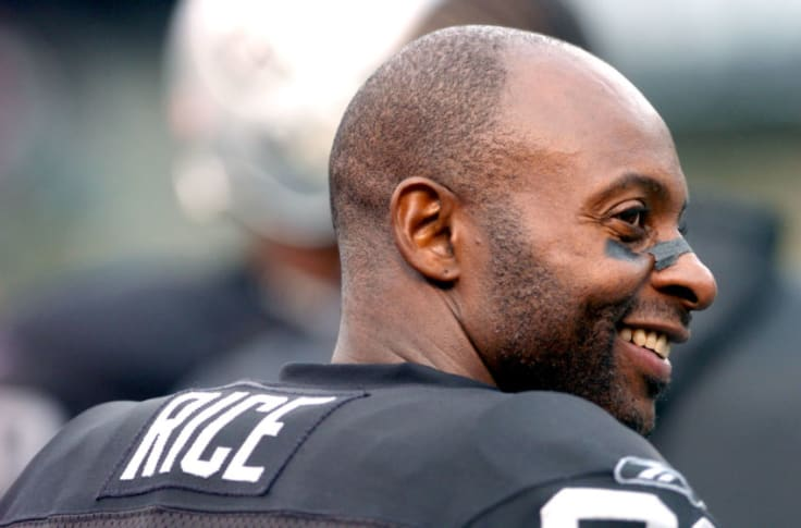 Oakland Raiders: Jerry Rice thinks he can still make plays for Jon ...