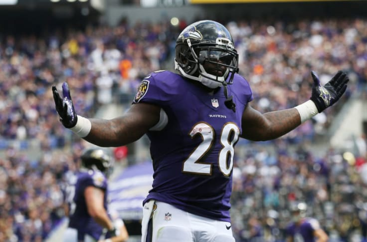 Baltimore Ravens: Does Terrance West have a future role?