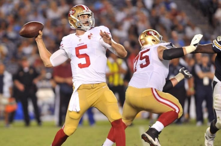 Christian Ponder: San Francsico 49ers starting quarterback