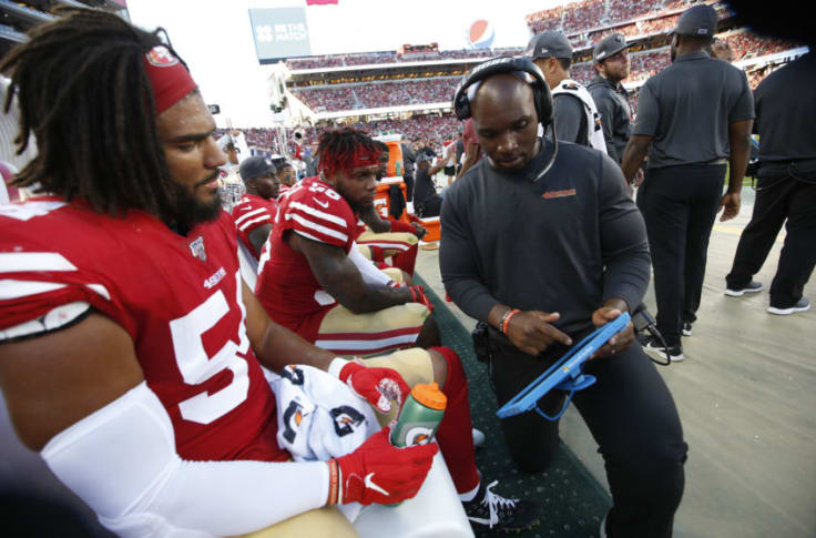 Fred Warner is more important to SF 49ers with DC DeMeco Ryans