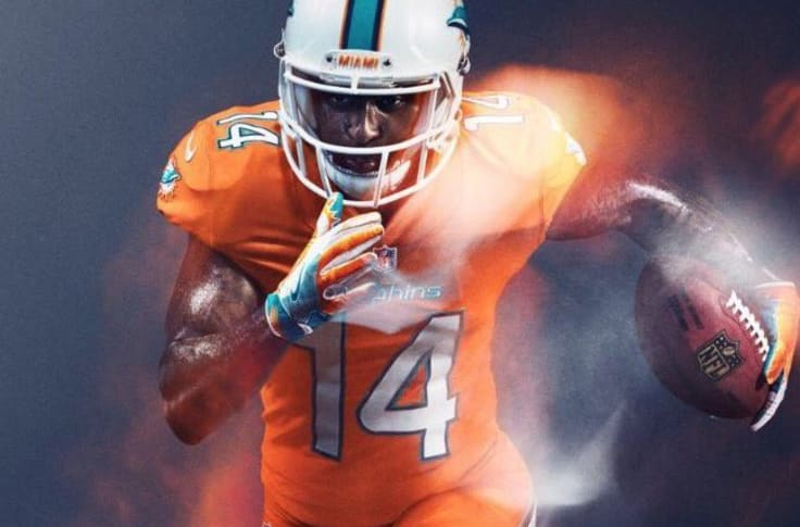 Miami Dolphins: First look at the Nike