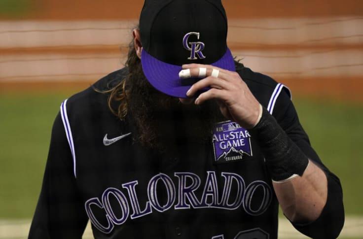 Charlie Blackmon Colorado Rockies New Arrivals Legend Baseball Player Jersey