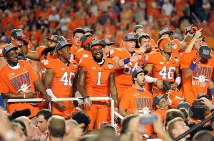 Clemson Football: Orange Britches