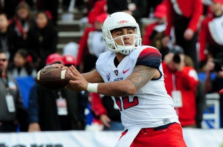 Brandon Dawkins Arizona Wildcats Football Jersey - Red