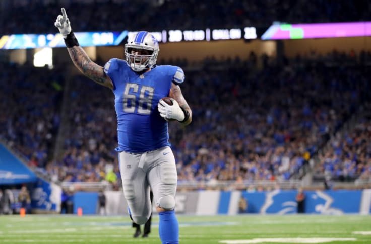 Detroit Lions: Is Taylor Decker worth keeping long term?