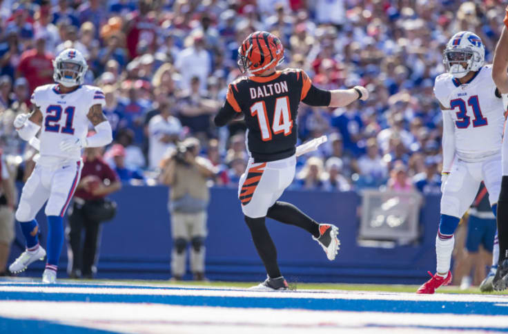 Andy Dalton could be a hot commodity on the quarterback market