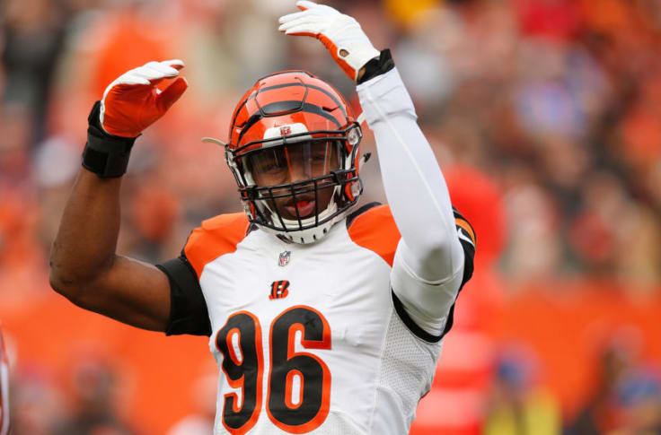 Carlos Dunlap absent from Bengals OTA's