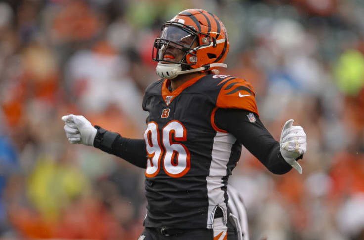 Bengals' defensive end Carlos Dunlap is only getting better with age
