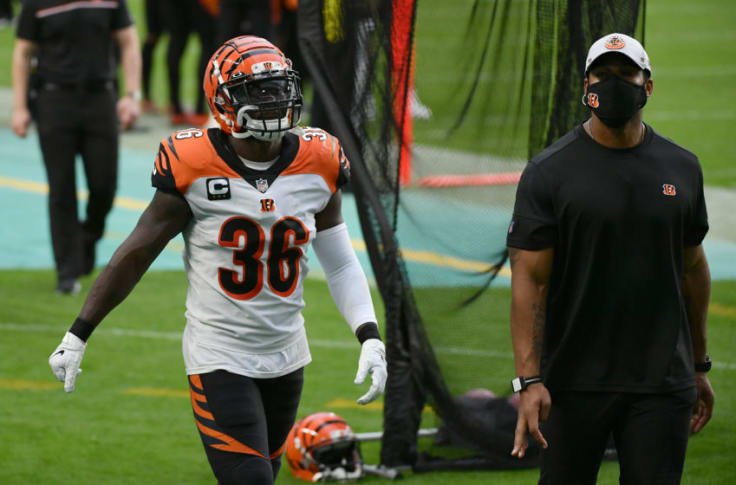 Bengals safety Shawn Williams suspended after stepping on Dolphins ...