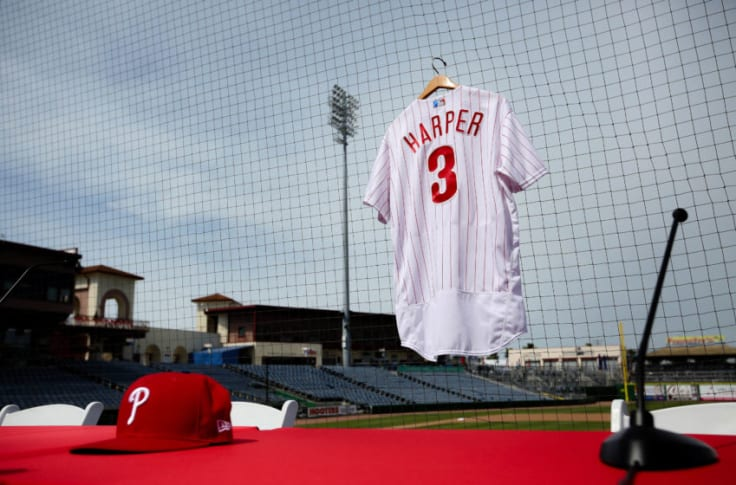 Phillies: Bryce Harper jersey 4th most popular in baseball