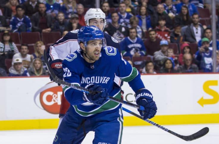 Brandon Sutter Vancouver Canucks Player Swingman Jersey