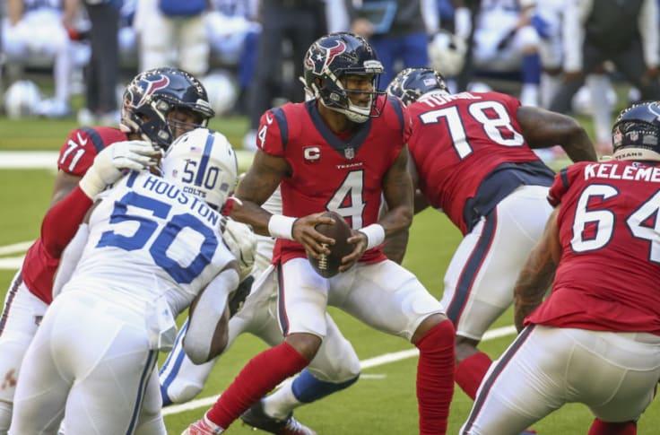 Deshaun Watson makes Houston Texans Week 14 favorites