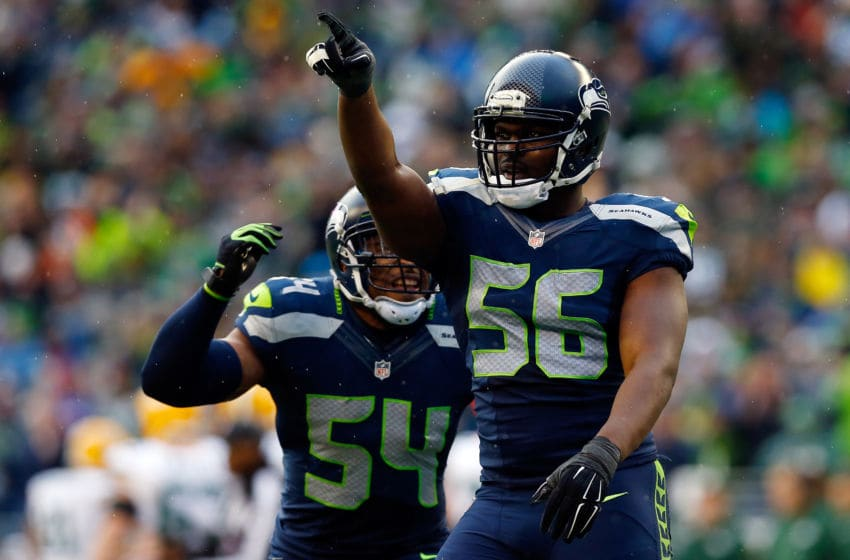 Cliff Avril, Seattle Seahawks. (Photo by Tom Pennington/Getty Images)