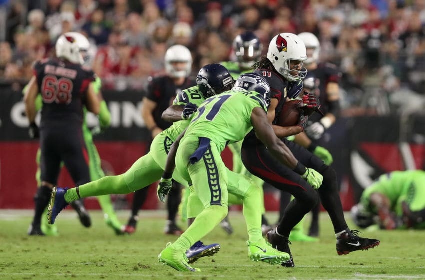 GLENDALE, AZ - NOVEMBER 09: Wide receiver Larry Fitzgerald (Photo by Christian Petersen/Getty Images)