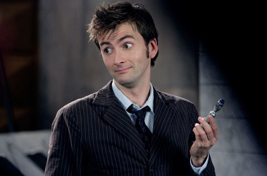 Picture Shows: DAVID TENNANT as The Doctor.. Doctor Who: The Doctors Revisited - The Tenth Doctor, the Doctor (David Tennant)