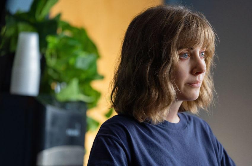 Photo: Alison Brie in Horse Girl.. Photo courtesy of Netflix, Katrina Marcinowski