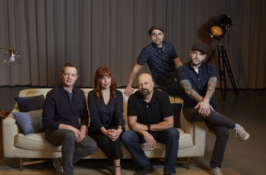 Ghost Nation: Reunion in Hell - Adam Berry, Amy Bruni, Jason Hawes, Dave Tango and Steve Gonsalves. Image courtesy Travel Channel