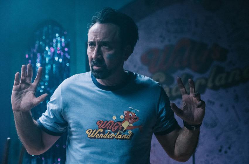 Willy's Wonderland starring Nicolas Cage
