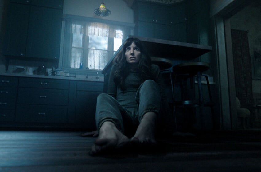 ANNABELLE WALLIS as Madison in New Line Cinema, Starlight Media Inc. and My Entertainment Inc.'s original horror thriller MALIGNANT, an Atomic Monster production, a Warner Bros Pictures release. Copyright: © 2021 Warner Bros. Entertainment Inc. All Rights Reserved. Photo Credit: Courtesy Warner Bros. Pictures