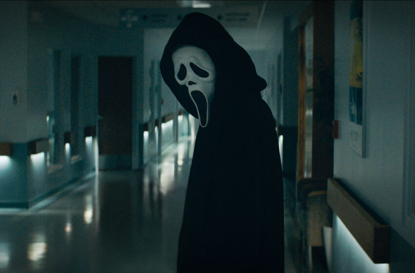 Ghostface in Paramount Pictures and Spyglass Media Group's