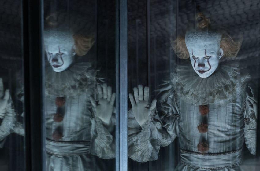 BILL SKARSGÅRD as Pennywise in New Line Cinema's horror thriller