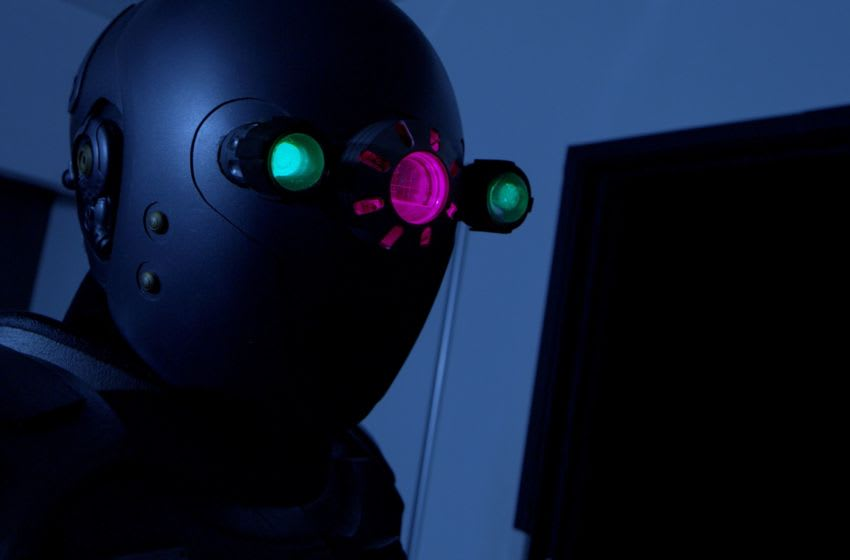 Photo: Sci-Fi Thriller / Comedy AUTOMATION.. Opening in select cinemas 11/29 and VOD & Blu-Ray 12/3 from DREAD.. Image Courtesy DREAD Productions