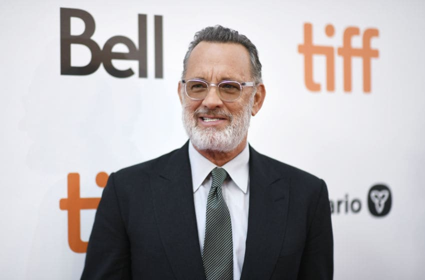TORONTO, ONTARIO - SEPTEMBER 07: Tom Hanks attends the