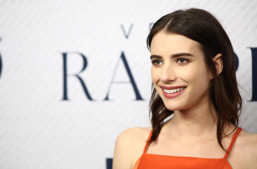 BEVERLY HILLS, CALIFORNIA - NOVEMBER 11: Emma Roberts attends the Premiere Of HBO Documentary Film