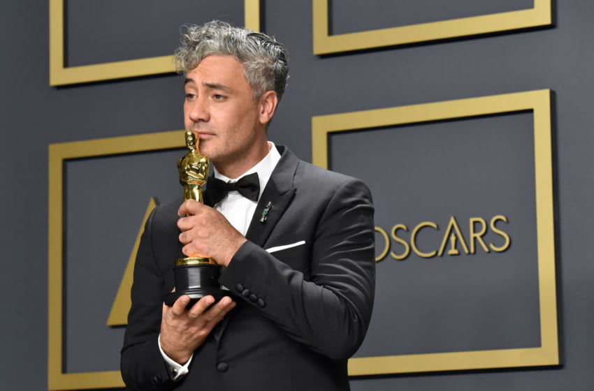 HOLLYWOOD, CALIFORNIA - FEBRUARY 09: Writer-director Taika Waititi, winner of the Adapted Screenplay award for