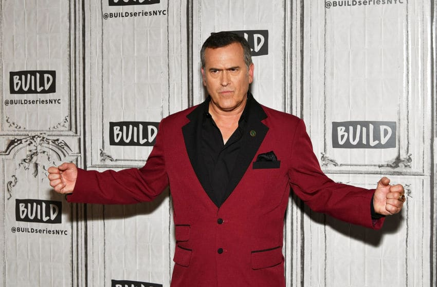 NEW YORK, NY - OCTOBER 06: Actor Bruce Campbell visits Build to discuss