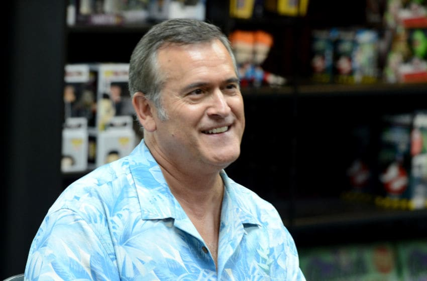 BURBANK, CA - Actor Bruce Campbell at Dark Delicacies Bookstore in Burbank, California. (Photo by Albert L. Ortega/Getty Images)