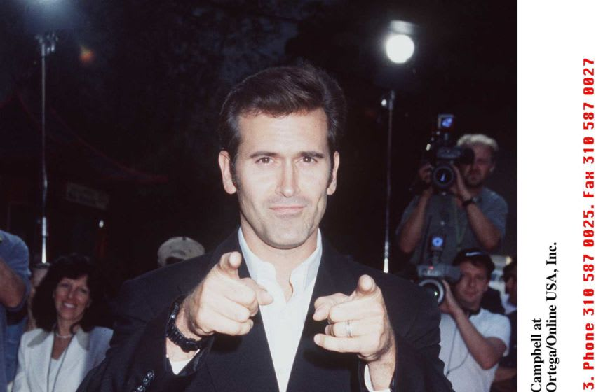 Bruce Campbell at Escape from L.A. premiere