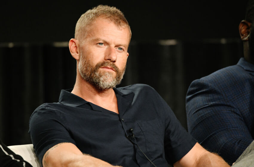 PASADENA, CALIFORNIA - JANUARY 14: James Badge Dale of 'Hightown' speaks onstage during STARZ TCA Winter 2020 on January 14, 2020 in Pasadena, California. (Photo by Michael Kovac/Getty Images for STARZ)