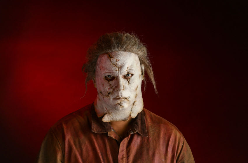 NEW YORK, NEW YORK - OCTOBER 04: A cosplayer as a Michael Meyers poses during New York Comic Con at the Javits Center on October 04, 2019 in New York City. (Photo by Mike Coppola/Getty Images)