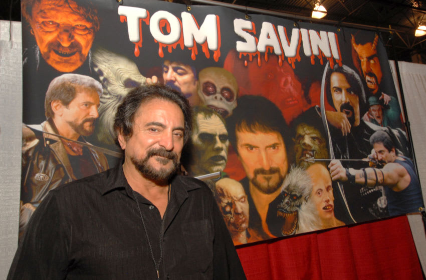NOVI, MI - MAY 18: Tom Savini attends Motor City Comic Con at Suburban Collection Showplace on May 18, 2013 in Novi, Michigan. (Photo by Paul Warner/Getty Images)
