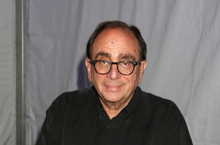 NEW YORK, NY - OCTOBER 31: R.L. Stine serves as guest ringmaster at the 2015 Big Apple Circus at Damrosch Park, Lincoln Center on October 31, 2015 in New York City. (Photo by Laura Cavanaugh/Getty Images)