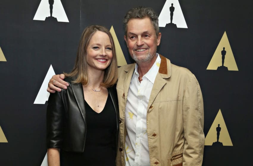 NEW YORK, NY - APRIL 20: Actress Jodie Foster and director Jonathan Demme (Photo by Cindy Ord/Getty Images)