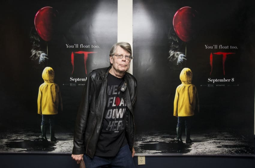 BANGOR, ME - SEPTEMBER 06: Stephen King attends a special screening of