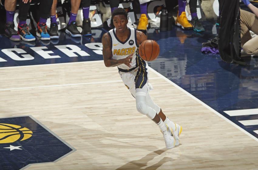 Edmond Sumner, Indiana Pacers (Photo by Jeff Haynes/NBAE via Getty Images)