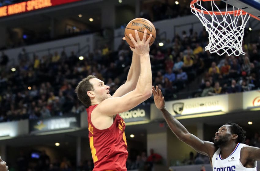 INDIANAPOLIS, INDIANA - FEBRUARY 07: Bojan Bogdanovic #44 of the Indiana Pacers shoots the ball against the Los Angeles Clippers at Bankers Life Fieldhouse on February 07, 2019 in Indianapolis, Indiana. (Photo by Andy Lyons/Getty Images)