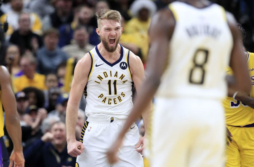Domantas Sabonis, Indiana Pacers Photo by Andy Lyons/Getty Images)