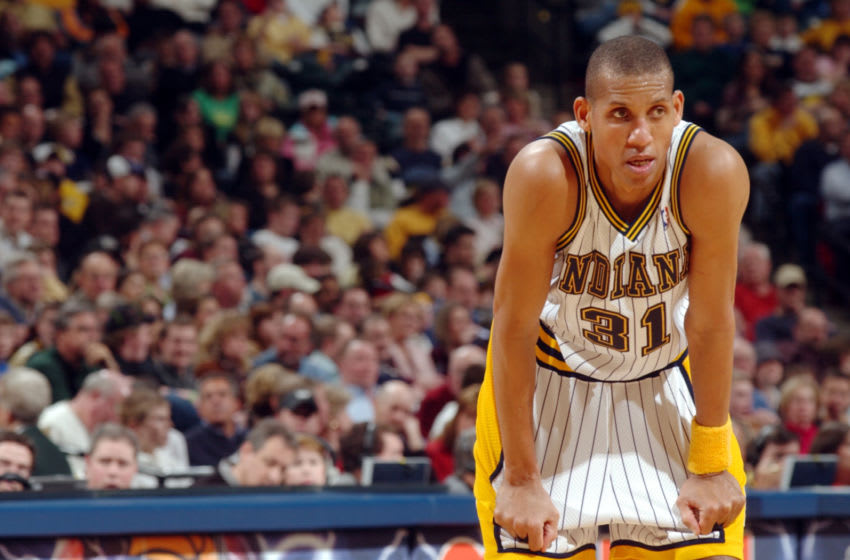 Reggie Miller (Photo by Ron Hoskins/NBAE via Getty Images)