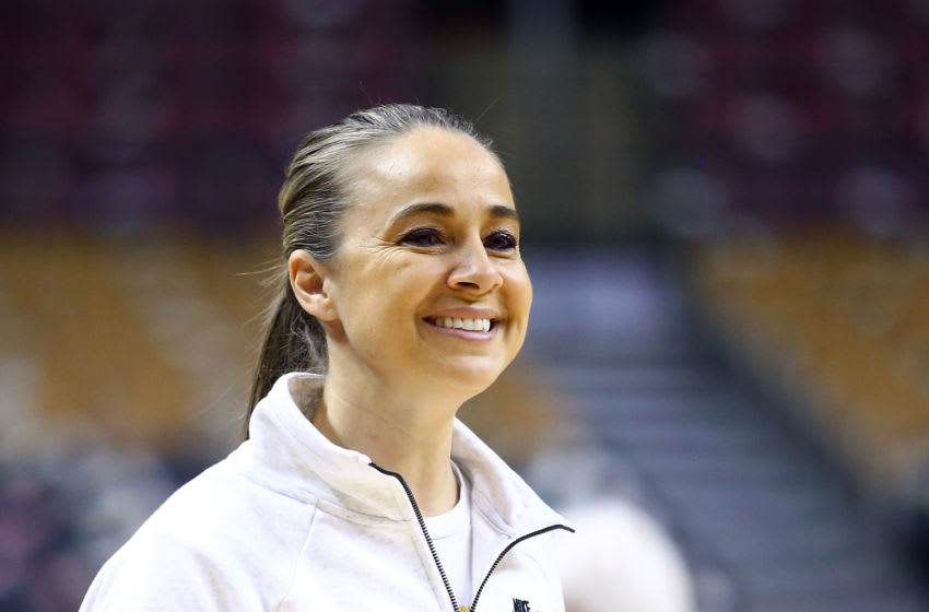 Becky Hammon, San Antonio Spurs (Photo by Vaughn Ridley/Getty Images)