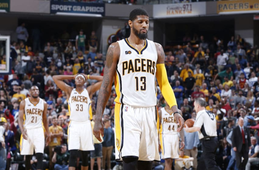 Indiana Pacers Paul George (Photo by Joe Robbins/Getty Images)