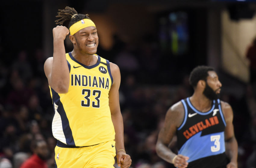 Myles Turner, Indiana Pacers (Photo by Jason Miller/Getty Images)