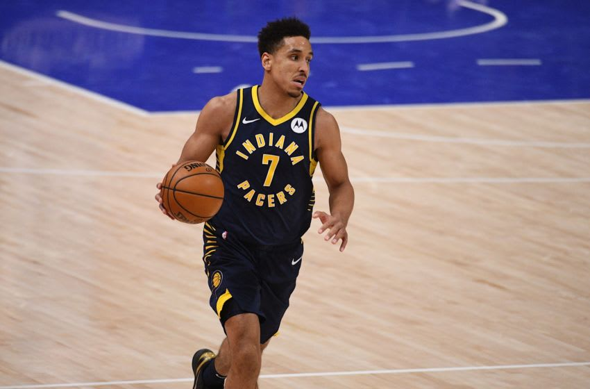 Malcolm Brogdon of the Indiana Pacers - Credit: Tim Fuller-USA TODAY Sports
