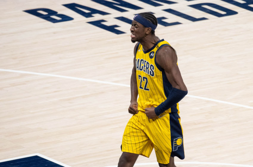 Indiana Pacers, Caris LeVert - Credit: Trevor Ruszkowski-USA TODAY Sports